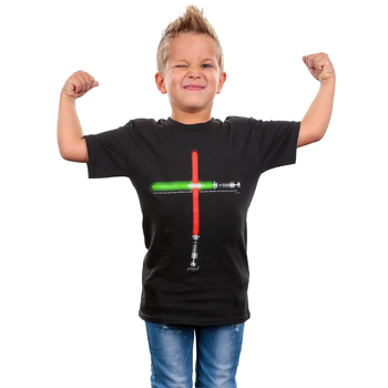 Gardenfire, John 8:12 Life Saver, Kid's Short Sleeve T-Shirt, Black, YS-YL