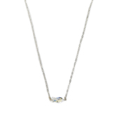 Loved By Design, Swarovski Crystal Fish Necklace, Sterling Silver, 16 Inches