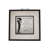 Dexsa, Prayer for My Dad Plaque, Wood, 7 1/2 x 7 1/2 inches