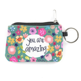 Brownlow Gifts, You Are Amazing ID Wallet Key Chain, Canvas, 5 x 3 1/2 inches