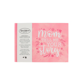 Brownlow Gifts, Mom, Tell Me Your Story Memory Book, Hardcover, Pink, 7 1/4 x 5 1/4 x 1/2 inches, 64   pages