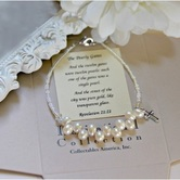Collectables America, Pearly Gates, Beaded Bracelet