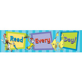 Eureka, Dr. Seuss, Read Every Day Banner, 45 x 12 inches