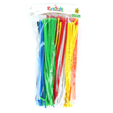 "Playside Creations, Chenille Stems, 12 x 1/4"", Assorted Colors, 300 Count"