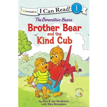 The Berenstain Bears Brother Bear & The Kind Cub, I Can Read, Level 1, by Stan, Jan, & Mike Berenstain