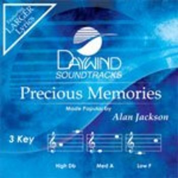Precious Memories, Accompaniment Track, As Made Popular by Alan Jackson, CD