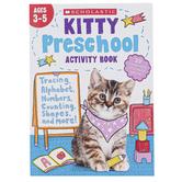 Scholastic, Kitty Preschool Activity Book, 144 Pages, Grade Pre-K