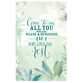 Salt & Light, Come to Me Funeral Program, 8 1/2 x 11 inches Flat, 100 Count