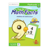 Preschool Prep Company, Meet the Math Facts Flashcards Level 2, Multi-Colored, Grades PreK-3