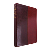 NLT Premium Slimline Reference Bible, Large Print, Duo-Tone, Multiple Colors Available