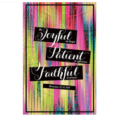 Salt & Light, Be Joyful In Hope Church Bulletins, 8 1/2 x 11 inches Flat, 100 Count