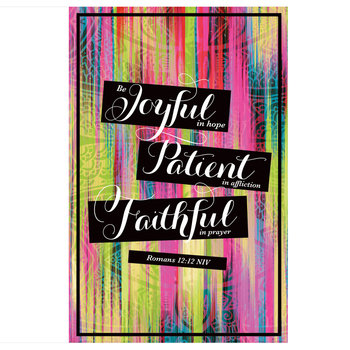 Salt & Light, Be Joyful In Hope Church Bulletins, 8 1/2 x 11 inches Flat, 100 Count