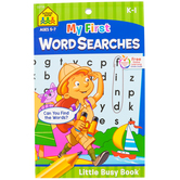 Little Busy Book, My First Word Searches Workbook, 48 Pages, 5.37 x 8.50 Inches, Grades K-1