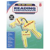 Carson Dellosa, The 100+ Series: Reading Comprehension, Grade 8
