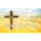 Welcome! Pew Cards - 50 Pack