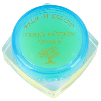 Holy Land Gifts, Frankencense and Myrrh Balm, Blue