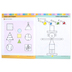 Evan-Moor, Learning Line Activity Book: Colors and Shapes, 32 Pages, Grades Preschool-K