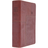 NLT Every Man's Bible, Deluxe Edition, TruTone, Thumb Indexed, Multiple Colors Available