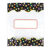 Creative Teaching Press, Dots on Black Storage Bags, 10.50 x 12.50 Inches, 6 Bags