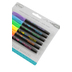 The Board Dudes, Neon Dry Erase Markers, Medium Point, Assorted Colors, 6 Pack