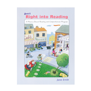 Educators Publishing Service, Right into Reading Book 2, by Jane Ervin, Paperback