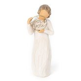 Willow Tree, Love You - Just A Little Reminder Figurine, by Susan Lordi, Resin, 5 inches