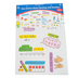 Carson-Dellosa, Easy Anchor Charts: Working With Numbers Bulletin Board Set, Grades K-2