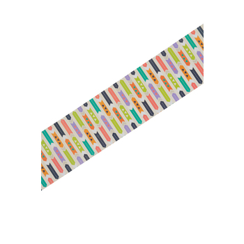 Renewing Minds, Wide Double-Sided Border Trim, 38 Feet, Colorful Arrows, Multi-Colored
