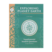 Memoria Press, Exploring Planet Earth Supplemental Student Book, Paperback, Grades 6-8