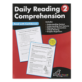 Chalkboard Publishing Workbooks, Daily Reading Comprehension, Paperback, 120 Pages, Grade 2