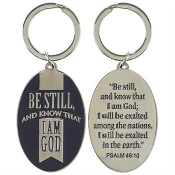 Be Still - Keyring