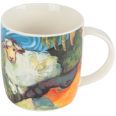Dicksons, Lord is My Shepherd Mug, Multi Colored Bone China, 12 Ounces