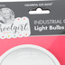 Schoolgirl Style, Industrial Chic Light Bulbs Cutouts, 3.5 x 6.29 Inches, 36 Pieces