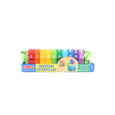 Melissa & Doug, Counting Caterpillar,  Ages 2 to 6 Years Old, Multi-Colored, 11 Pieces