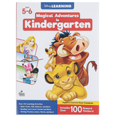 Carson Dellosa, Magical Adventures in Kindergarten Workbook, Grade K, 256 Pages, Ages 5-6