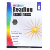 Carson-Dellosa, Spectrum Reading Readiness Workbook, Preschool, 128 Pages, Ages 4-5