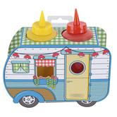 Talisman Designs, Condiment Camper, 3 Pieces, 6 x 4 x 2.50 Inches