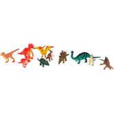Fun Express, Dinosaur Toys, Plastic, 1 Each of 10 Toys