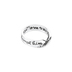 Dicksons, Philippians 4:13 Wide Mobius, Women's Ring, Silver Plated, Size 6