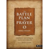 The Battle Plan for Prayer Bible Study Book, by Stephen Kendrick and Alex Kendrick, Paperback