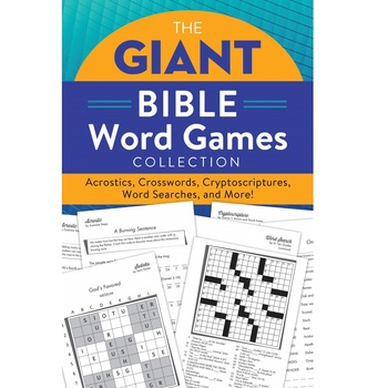 The Giant Bible Word Games Collection, by Barbour, Paperback