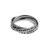 Spirit & Truth, Serenity Prayer, Triple Band Ring, Stainless Steel, Size 8