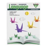 Newmark Learning, Meaningful Mini-Lessons and Practice Language Resource Book, 144 Pages, Grade 6