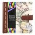 Brother Sister Design Studio, Vintage Map Photo Album, 9.25 x 8.50 Inches, 160 Photo Slots