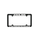 Dicksons, Philippians 4:13 Can Do All Things License Plate  Frame, Plastic, 12 1/4  x 6 3/8 inches
