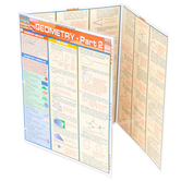 BarCharts Inc, Geometry Part 2, Quick Study Academic Guide, Laminated, Grades 5-Adult