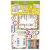 Teacher Created Resources, Confetti Calendar Bulletin Board Set, 84 Pieces