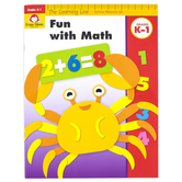 Evan-Moor, Learning Line Activity Book: Fun With Math, 32 Pages, Grades K-1