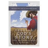 Well-Trained Mind Press, Telling God's Story Year Two Teacher Guide, Paperback, 146 Pages, Grade 2