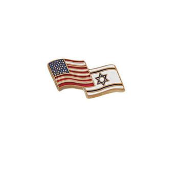 USA/Israel Lapel Pin